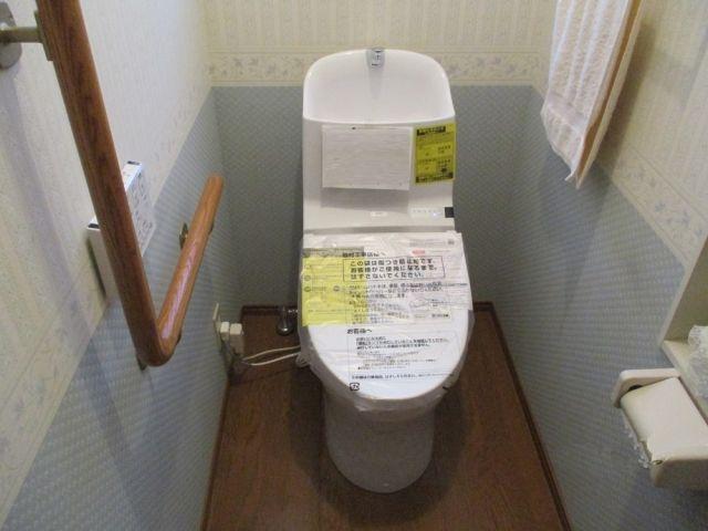 トイレ取替工事 長野県北安曇郡池田町 CES9333HL-NW1