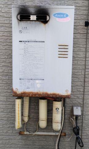 石油給湯器取替工事 新潟県三条市 UKB-AG470ARX-MW