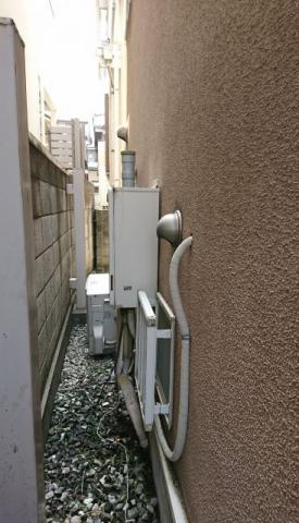 ガス給湯器取替工事 東京都目黒区 GT-2460SAWX-BL-set-13A