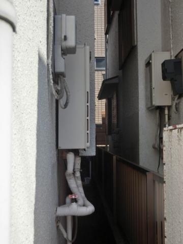 ガス給湯器取替工事 神奈川県横浜市金沢区 GQ-2039WS-set-13A