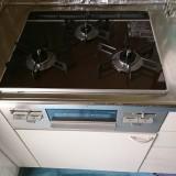 ビルトイン食洗機 ビルトインガスコンロ取替工事 広島県山県郡北広島町 RSWA-C402C-B