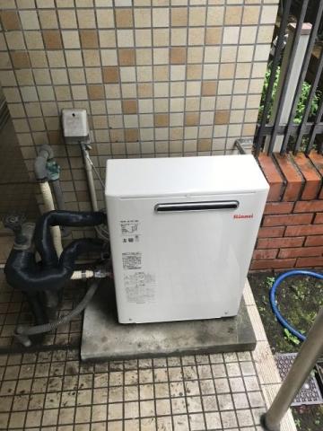 ガス給湯器取替工事 東京都武蔵野市 RUX-A1613G-set-13A