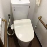 トイレ取替工事 兵庫県神戸市長田区 BC-ZA10H-DT-ZA180H-BW1