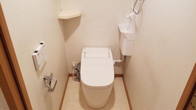 トイレ取替工事 東京都世田谷区 XCH1401WS