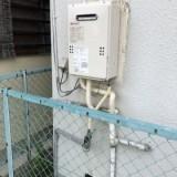 ガス給湯器取替工事 大阪府泉佐野市 GQ-1639WS-set-LPG