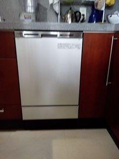 ビルトイン食洗機取替工事 東京都世田谷区 NP-45MC6T