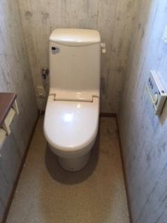 トイレ取替工事 兵庫県揖保郡太子町 XCH1401WS