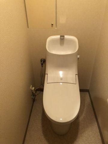 トイレ取替工事 大阪府大阪市中央区 BC-ZA20PM-DT-ZA281PM-BW1