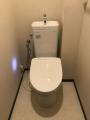トイレ取替 クッションフロア張替え工事 神奈川県川崎市幸区 TCF4833-NW1
