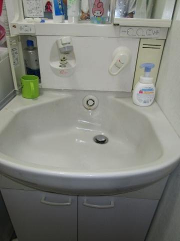 洗面化粧台取替工事 埼玉県春日部市 AR2N-605SY-U-K-VP1H