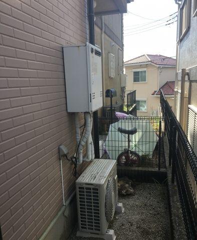 ガス給湯器取替工事 神奈川県横浜市青葉区 RUF-E2405SAW-A-set-13A