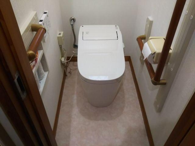 トイレ交換工事 埼玉県幸手市 XCH1401RWS