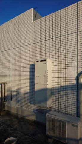 ガス給湯器取替工事 東京都武蔵野市 RUFH-E2405AW2-3-A-set-13A