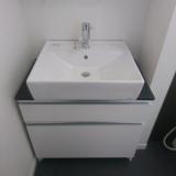 洗面化粧台 小型電気温水器交換工事 千葉県松戸市 LU755CSD-10-BW1