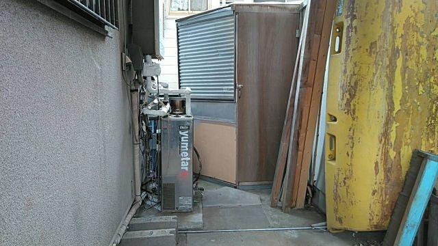 石油給湯器交換工事 神奈川県平塚市 UKB-NX460AR-MSD