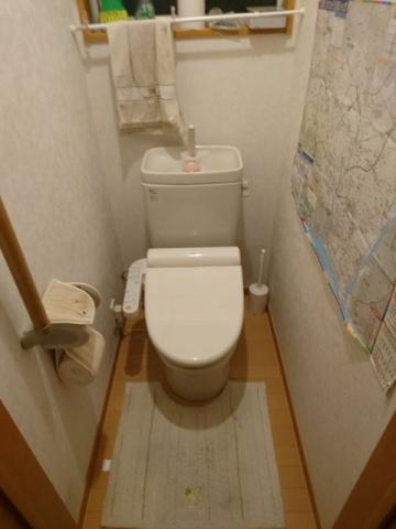 ガス給湯器 トイレ交換工事 神奈川県平塚市 RUF-E2405AW-A-13A