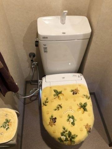 トイレ交換工事 大阪府高石市 CW-EA24-BW1