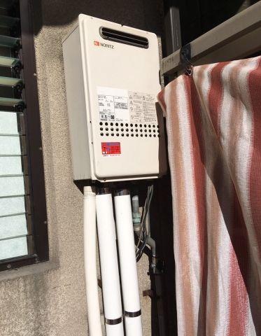 ガス給湯器交換工事 広島県広島市南区 RUJ-V2401W-A-13A
