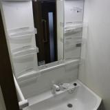洗面化粧台交換工事 兵庫県神戸市中央区 kouji03
