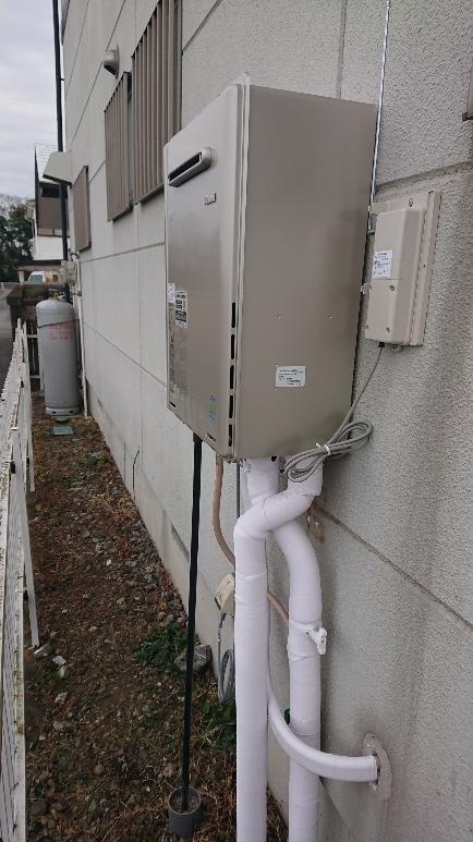 ガス給湯器交換工事 埼玉県熊谷市