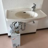 小型電気温水器交換工事 大阪府大阪市淀川区 EHPK-F6N4