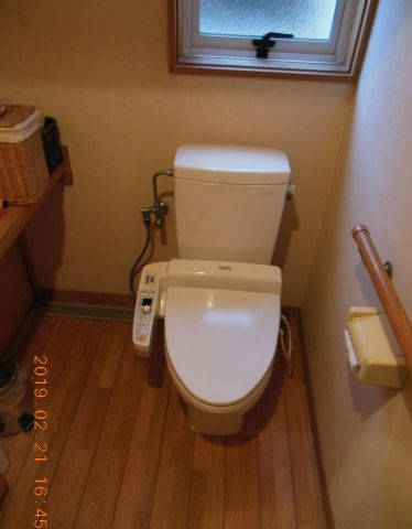トイレ交換工事 神奈川県中郡二宮町 XCH1401WS