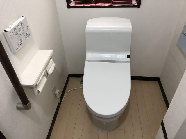 トイレ エコキュート交換工事 兵庫県宝塚市
