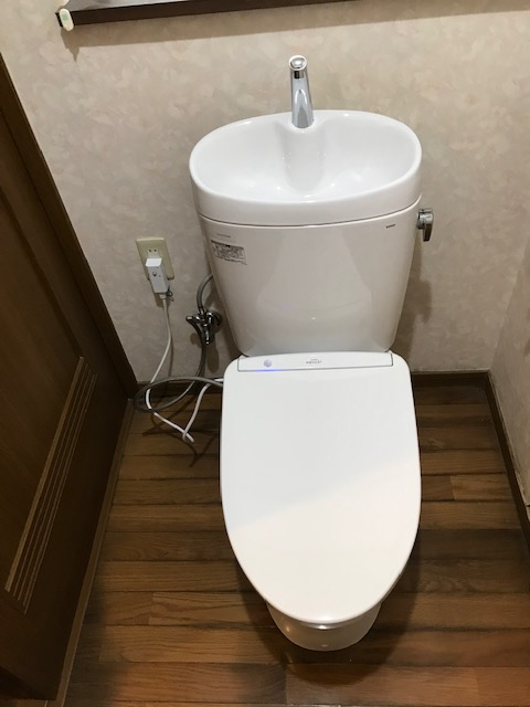 トイレ交換工事 山形県寒河江市