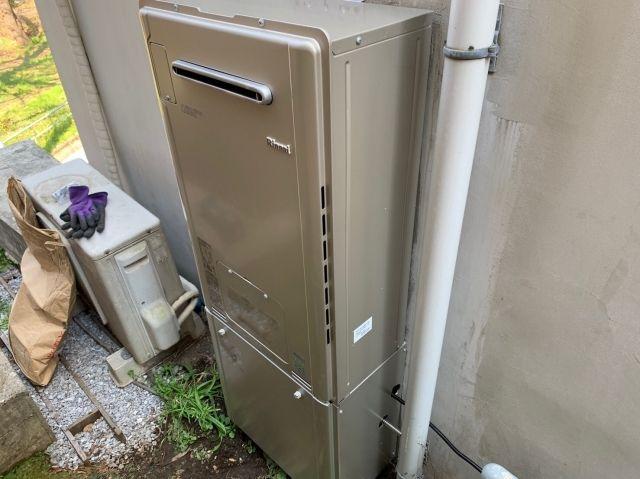 ガス給湯器交換工事 東京都杉並区 RUFH-E2405AW2-3-A-set-13A