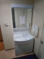 洗面化粧台交換工事 東京都江東区 GQM75KSCW-GQM75K3SMK