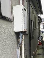 ガス給湯器交換工事 新潟県柏崎市