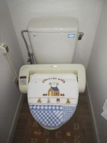 トイレ交換工事 福島県白河市 CS330BH-SH333BN-NW1