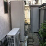 エコキュート 蛇口交換工事 神奈川県藤沢市 BHP-F46RU-set