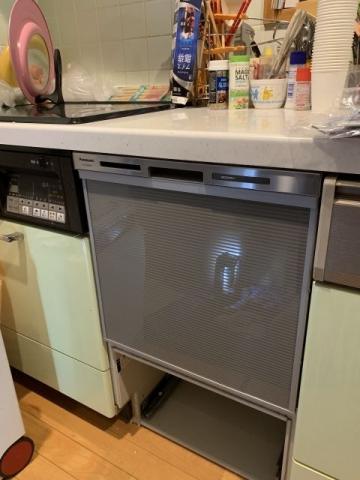 ビルトイン食洗機交換工事 東京都日野市 NP-45MS8S