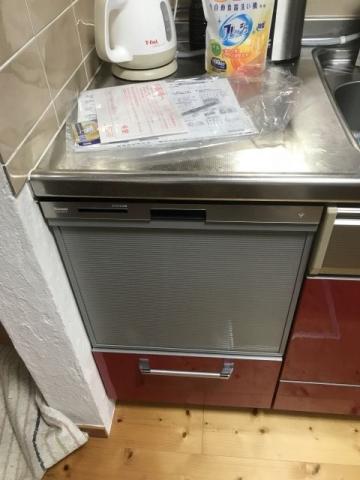 ビルトイン食洗機交換工事 奈良県五條市 RSW-404LP