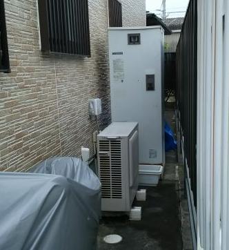 エコキュート交換工事 三重県鈴鹿市 SRT-S374A-BS-set