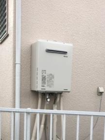 ガス給湯器交換工事 東京都小平市