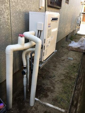 ガス給湯器交換工事 千葉県茂原市
