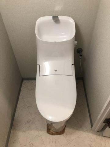トイレ交換工事 東京都渋谷区 BC-ZA20H-DT-ZA281H-BW1